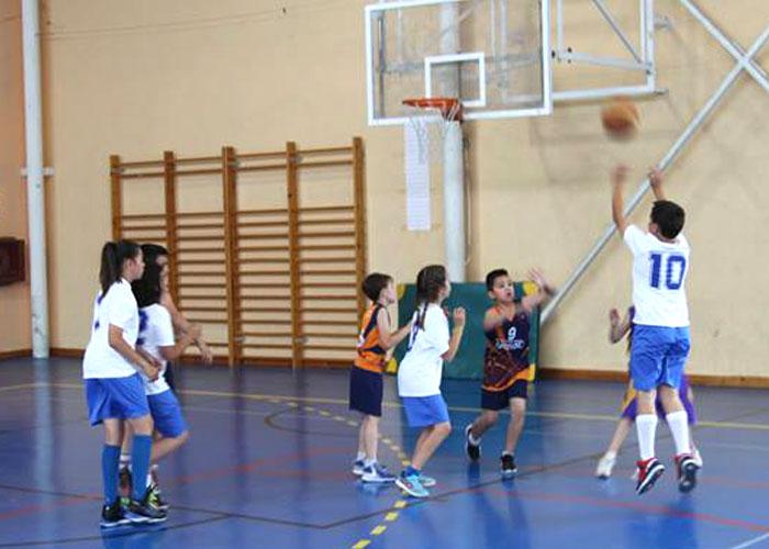 Extraescolar: Baloncesto en Colegio Diocesano Cardenal Cisneros