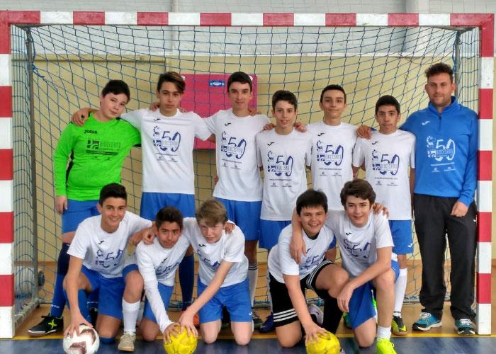 Extraescolar: Fútbol Sala en Colegio Diocesano Cardenal Cisneros
