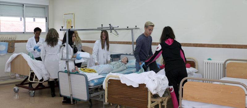 Técnico en cuidados auxiliares de enfermería en Diocesano