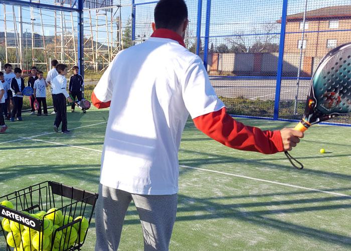 Extraescolar: Pádel en Colegio Diocesano Cardenal Cisneros